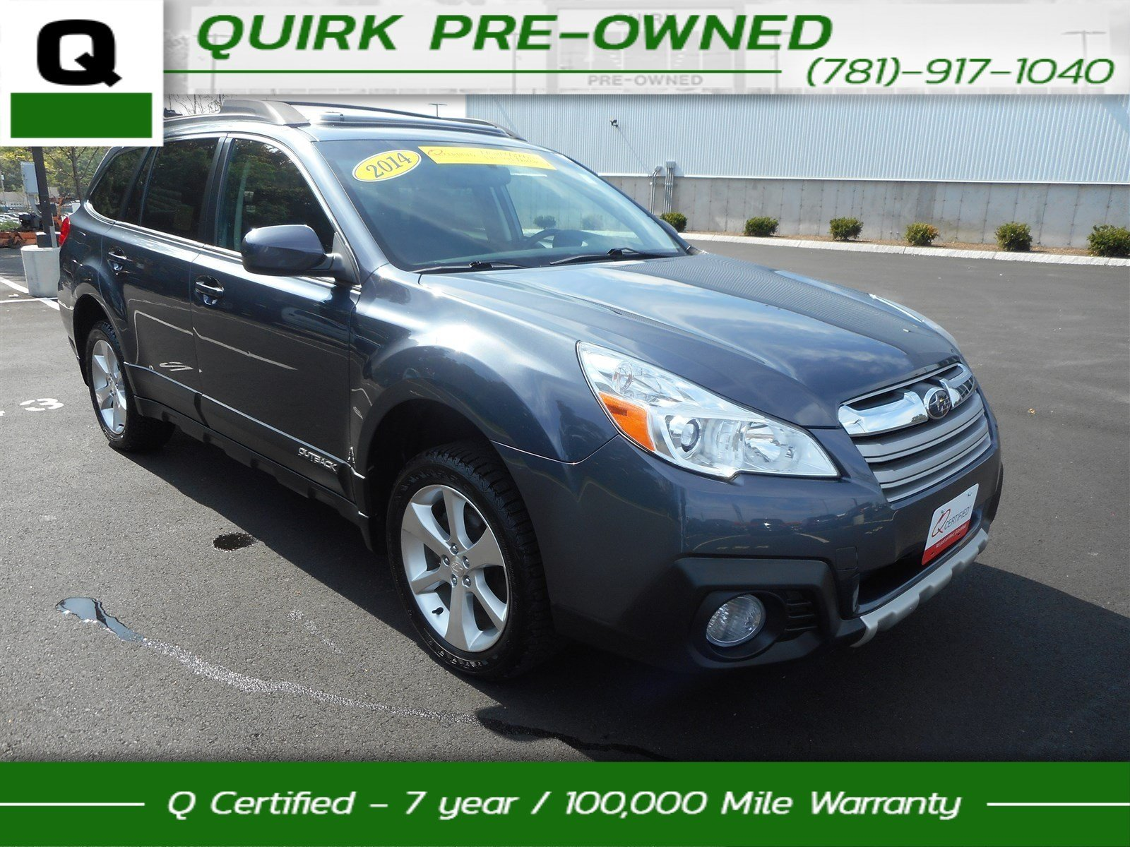 Certified Pre-Owned 2014 Subaru Outback 2.5i Limited