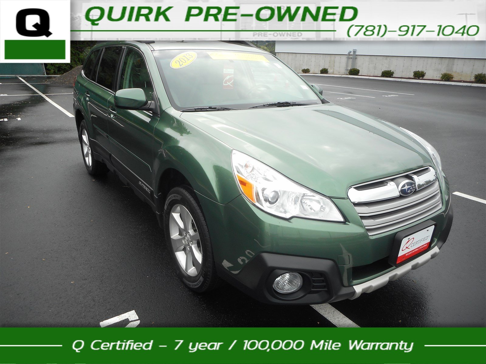 Certified Pre-Owned 2013 Subaru Outback 2.5i Limited