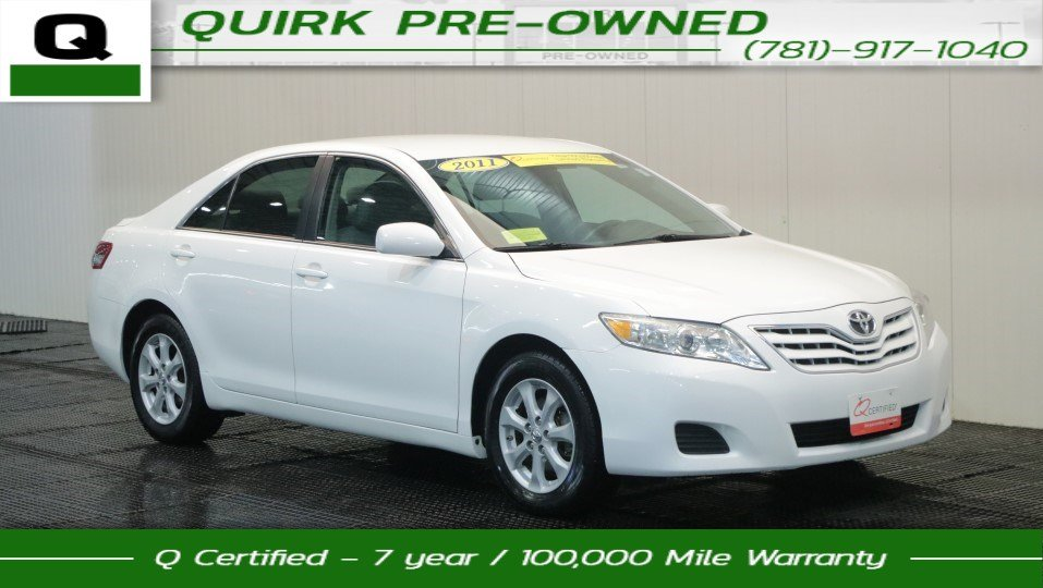 2011 Toyota Camry LE 4dr