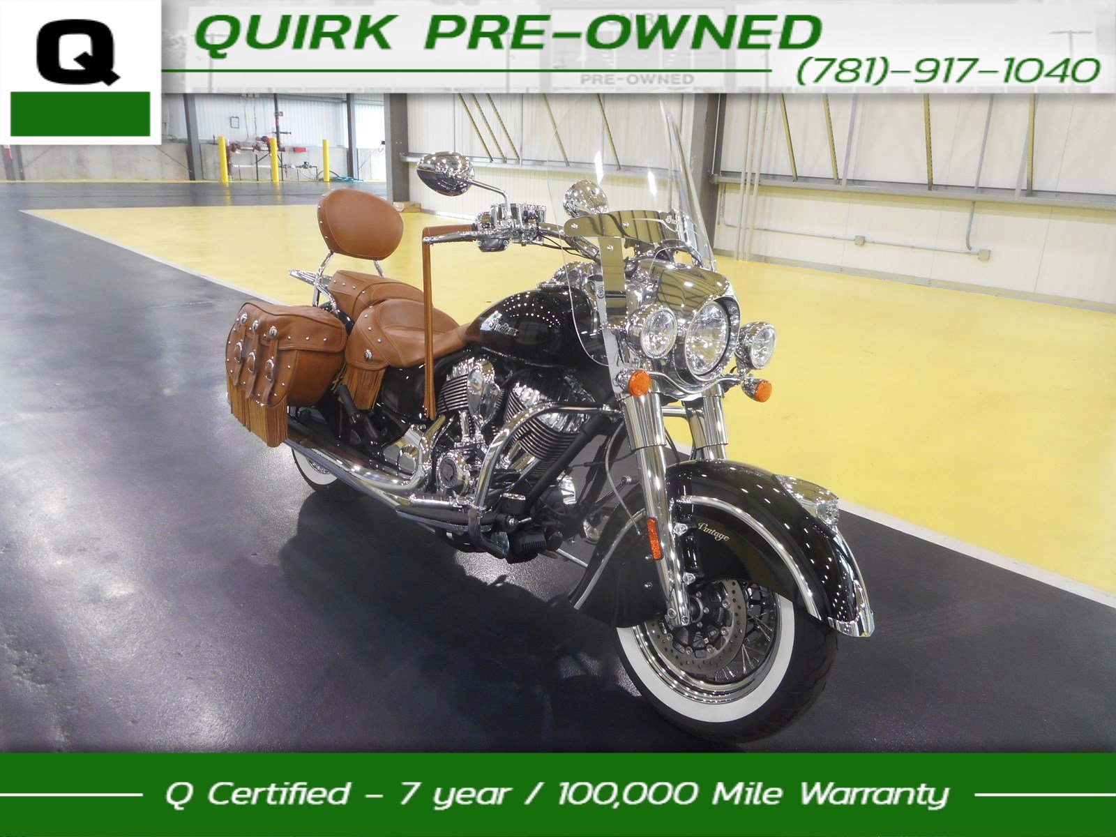 2016 Indian Chief VINTAGE Motorcycle