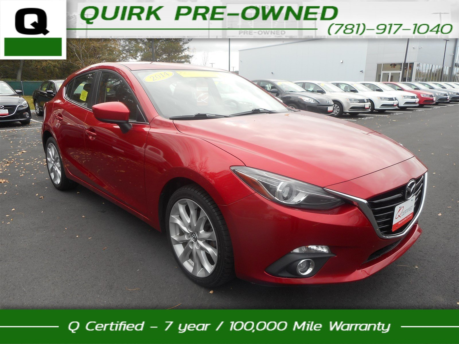 Certified Pre-Owned 2014 Mazda3 s Touring