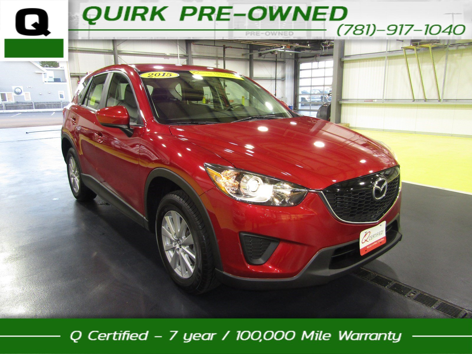 Certified Pre-Owned 2015 Mazda CX-5 Sport AWD