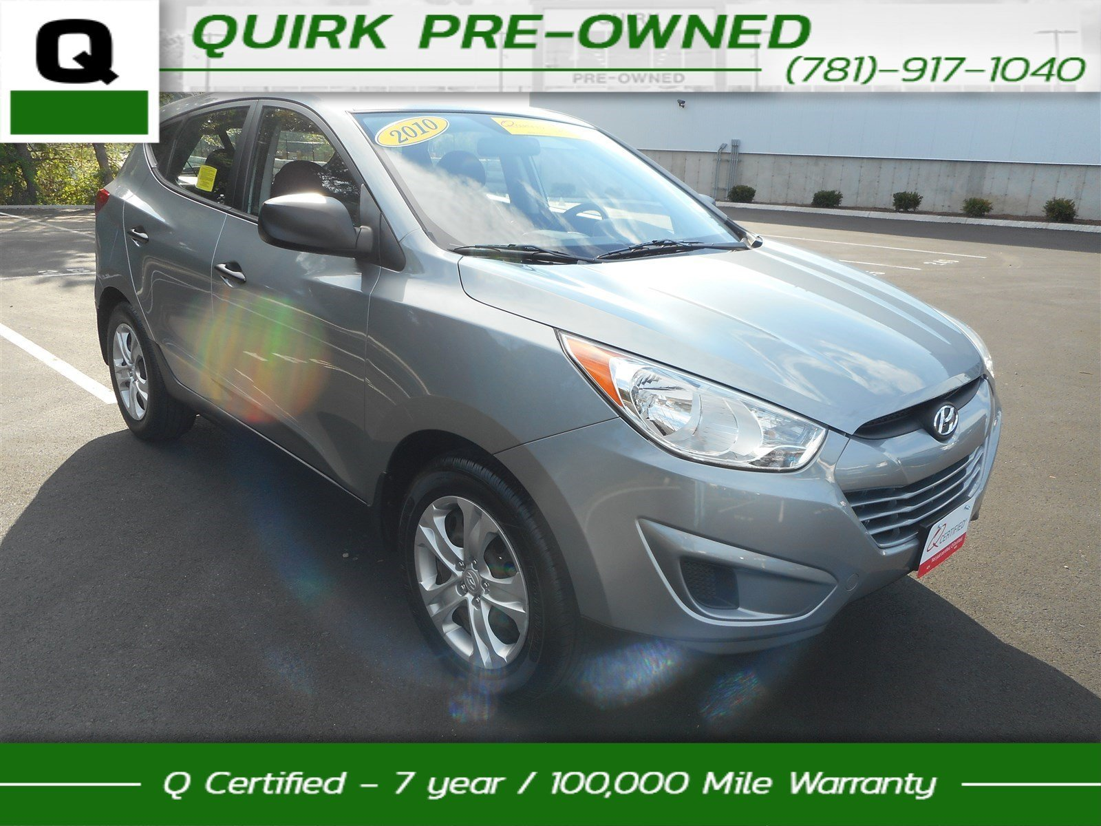 Certified Pre-Owned 2010 Hyundai Tucson GLS