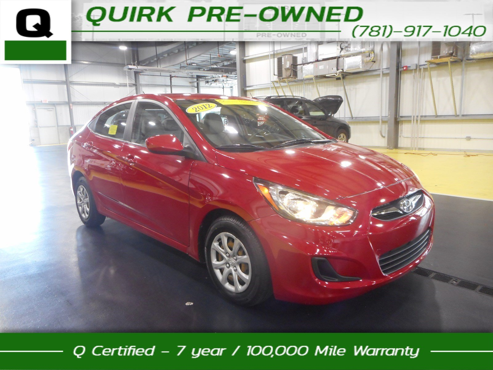 Certified Pre-Owned 2012 Hyundai Accent GLS