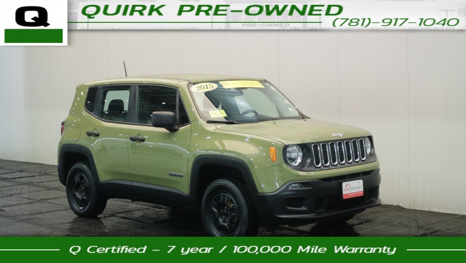 Certified Pre Owned 2015 Jeep Renegade Sport